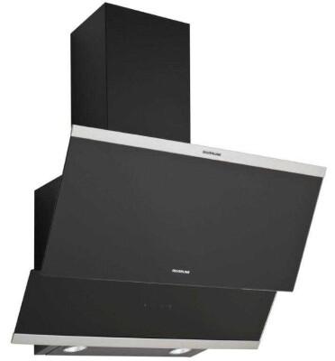 Silverline - Silverline 3420 Davlumbaz, Classy, 60 cm, Siyah